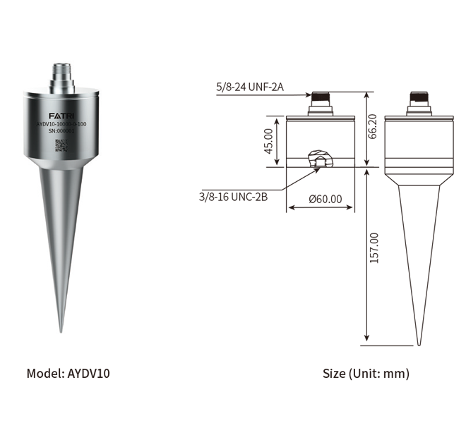 extremely low frequency integrated circuit piezoelectric accelerometer aydv10